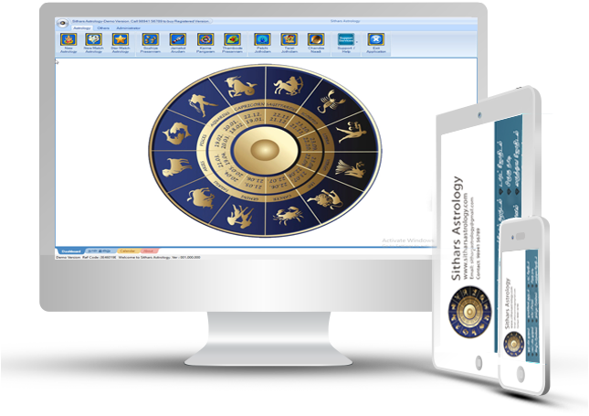 Sithars Astrology, Astrology Software, Unique Astrology